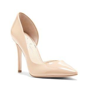 Jessica Simpson Prizma sand nude pumps